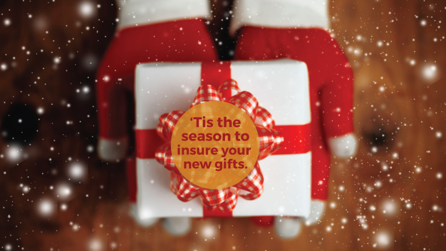 Insure your expensive holiday gifts with Yetter Insurance Agency